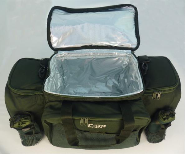 Carp zone carp fishing food bag insulated inner ebay for Insulated fish bag