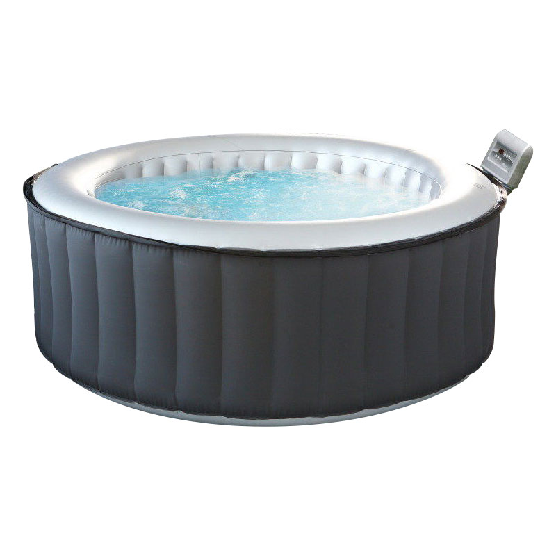 mspa silver cloud lite spa 6 seater round m021ls hot tub. Black Bedroom Furniture Sets. Home Design Ideas