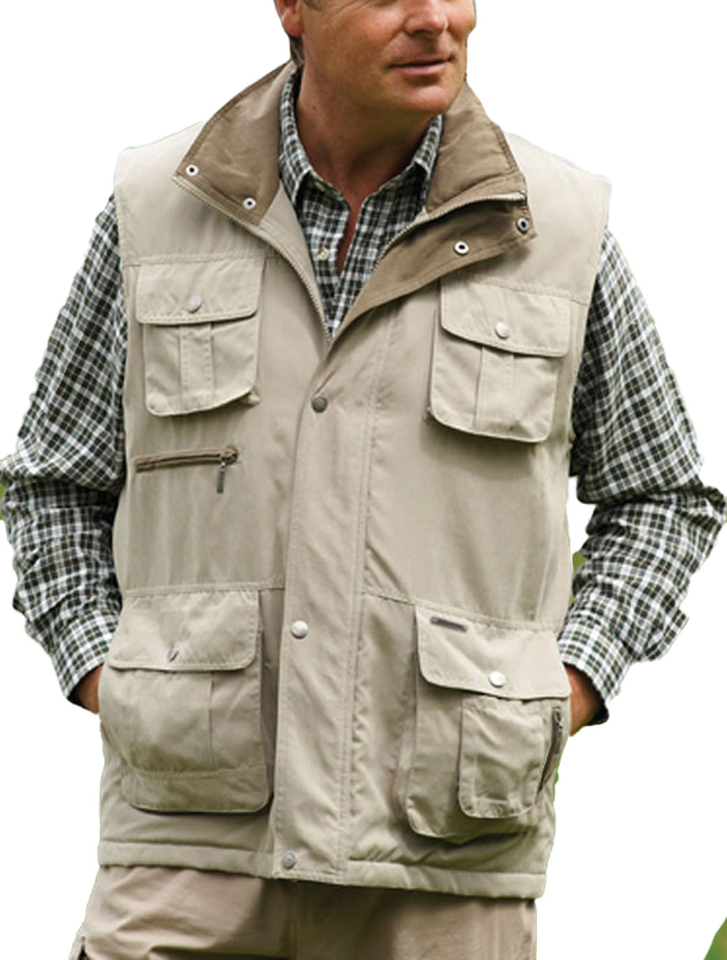 Mens Champion Melton Country Clothing Quilted BodyWarmer ...