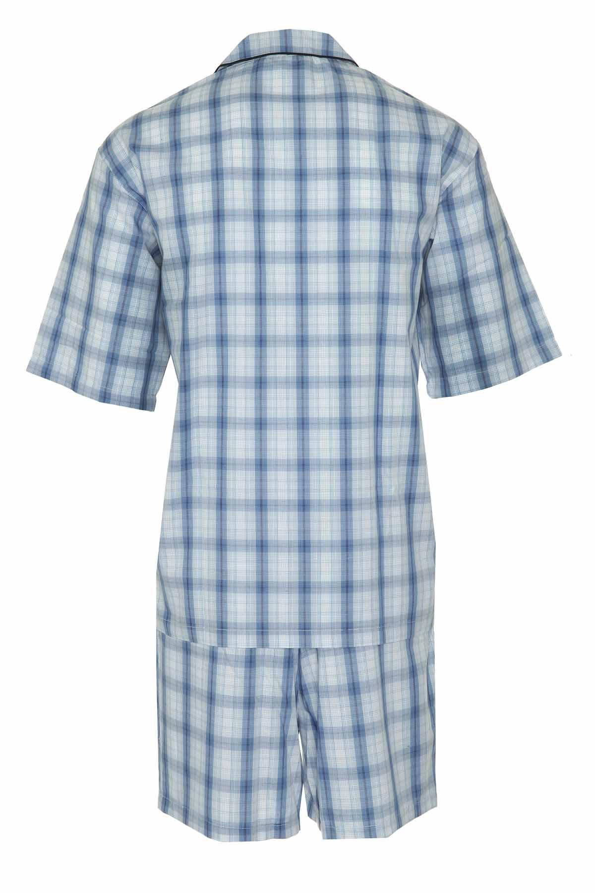 Champion Mens Polycotton Short Pyjama Lounge Wear Set