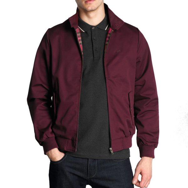 Mens Merc London Retro Mod Harrington Jacket