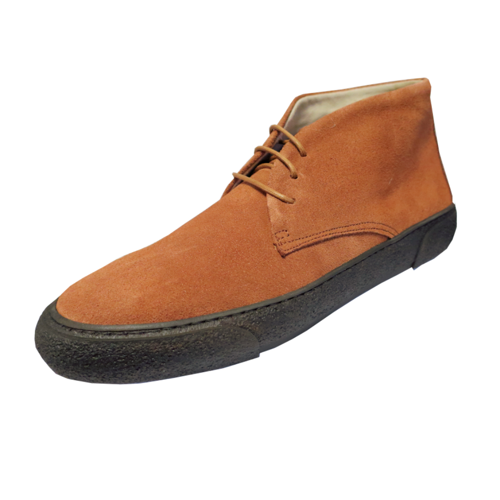 Mens Delicious Junction McQueen Bullitt Thick Crepe Suede Chukka Boots