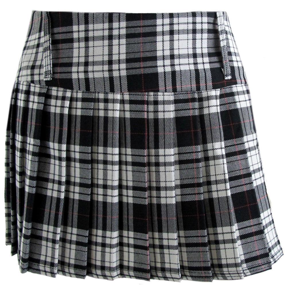 viper london tartan skirts 11 5 inch micro mini skirt sizes 6 28 ebay. Black Bedroom Furniture Sets. Home Design Ideas
