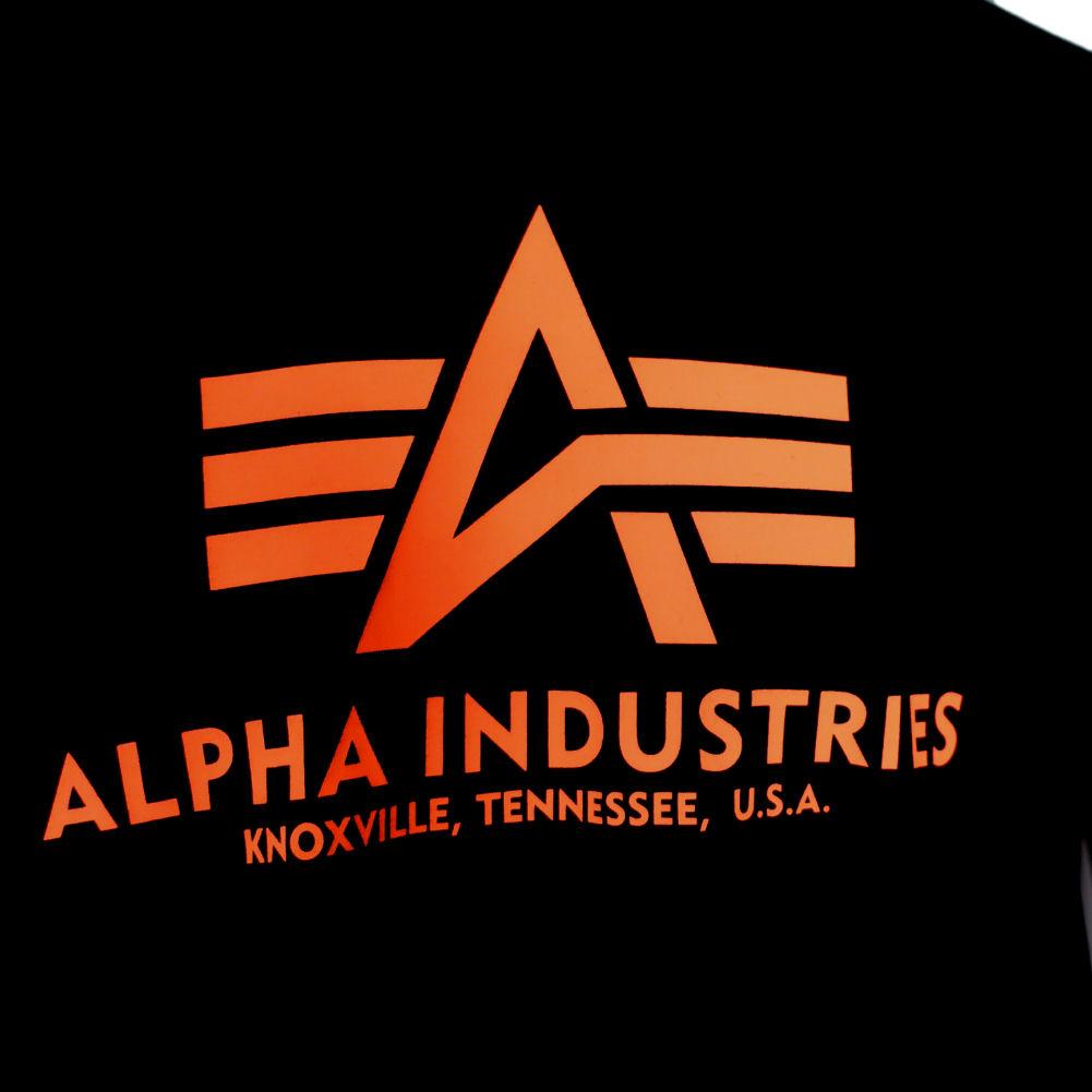 Mens Alpha Industries Retro Basic Logo T-Shirt