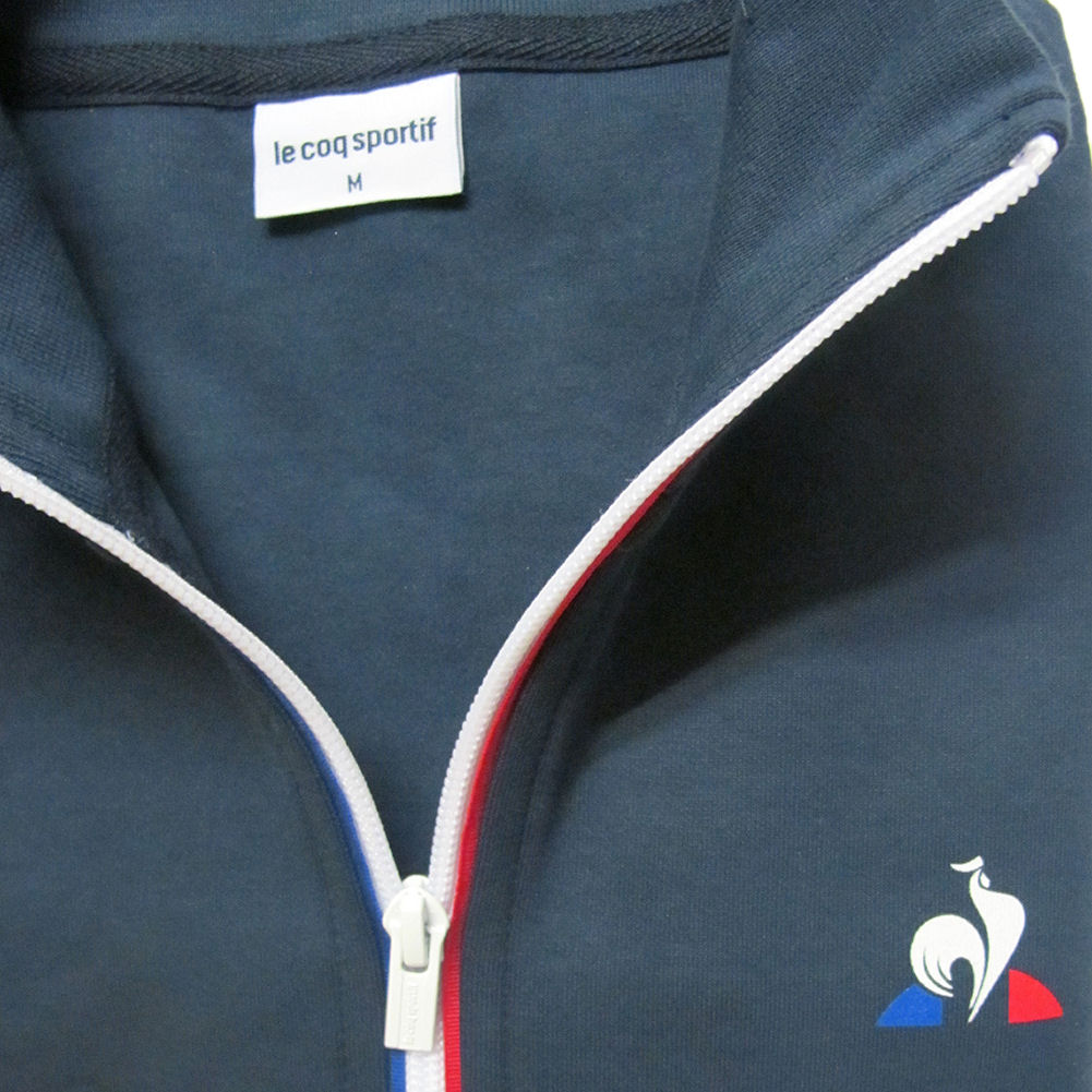 Mens Le Coq Sportif Essentials Full Zip Sweatshirt