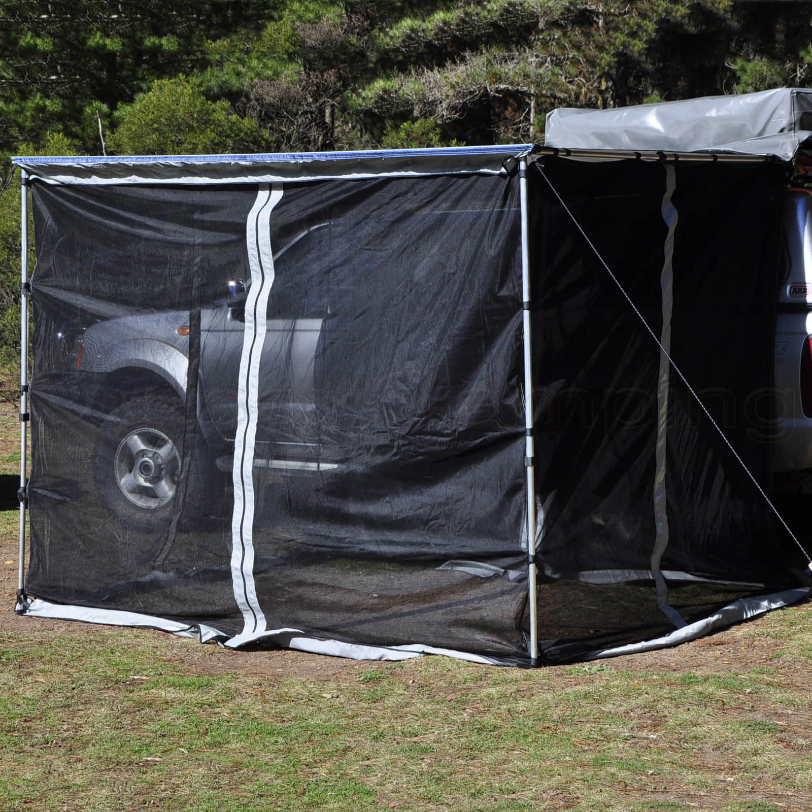 NEW Mosquito NET Mesh FOR 2 5M Awning Roof TOP Tent Camper
