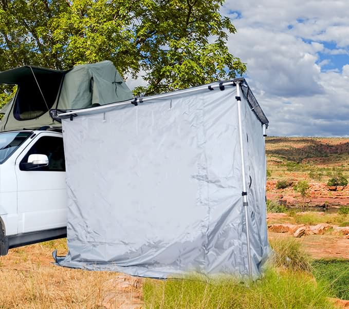 Instant Awning Room Shade 2m x 2m Car 4WD 4X4 Camping Outdoor Camper Trailer