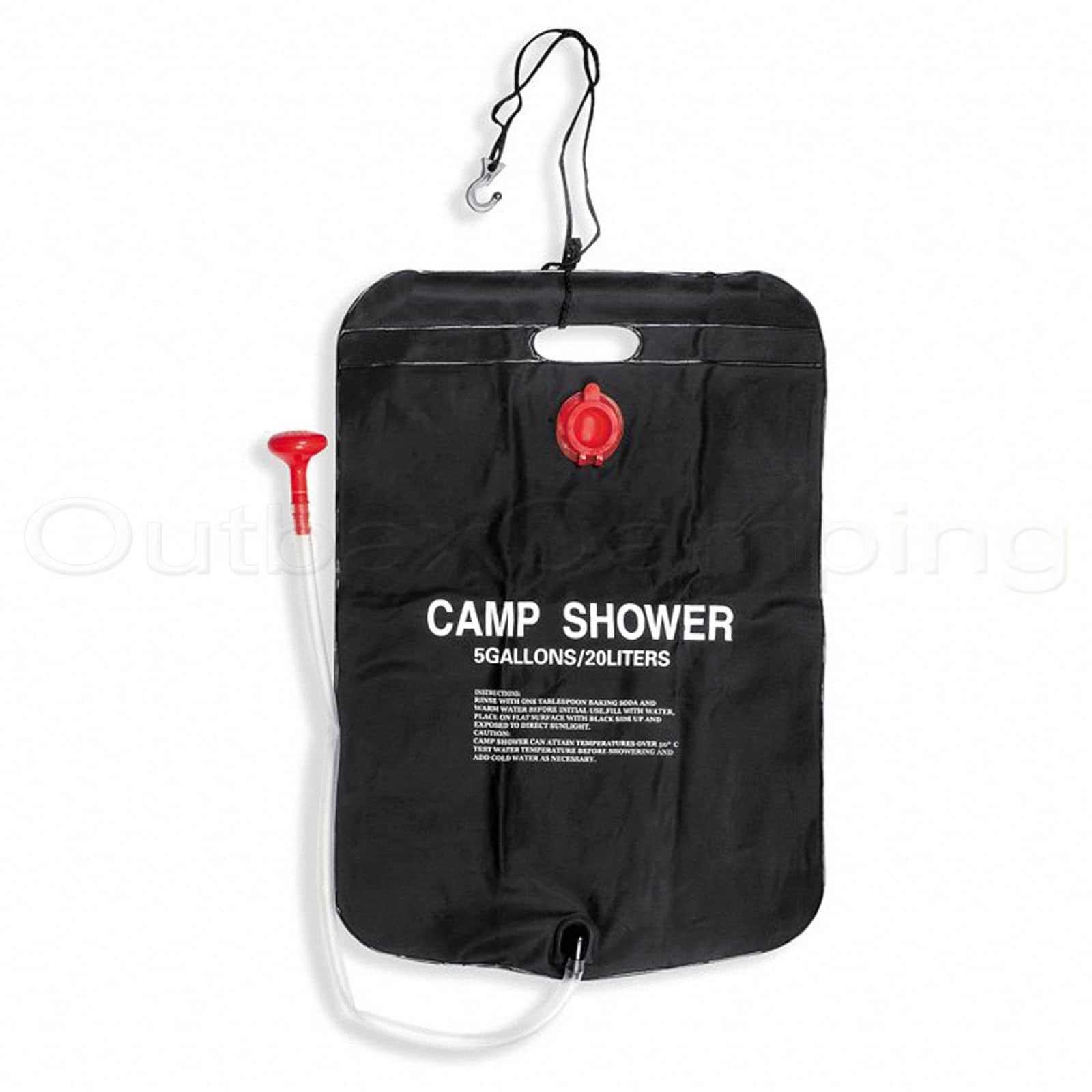 Portable Shower Bag : Bestway solar heated portable shower bag outdoor camping