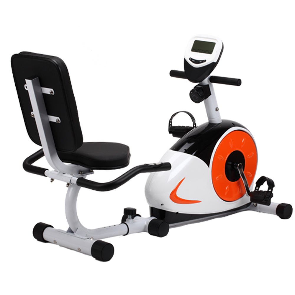 Hurk commercial quality recumbent bike home gym fitness