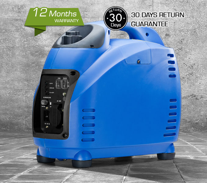 NEW GenTrax Inverter Generator 1.4kVA KW Puresine Silent Portable Petrol Camping