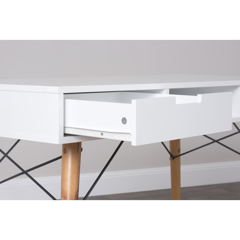 Scandinavian Desk new eames study desk white writing table office computer