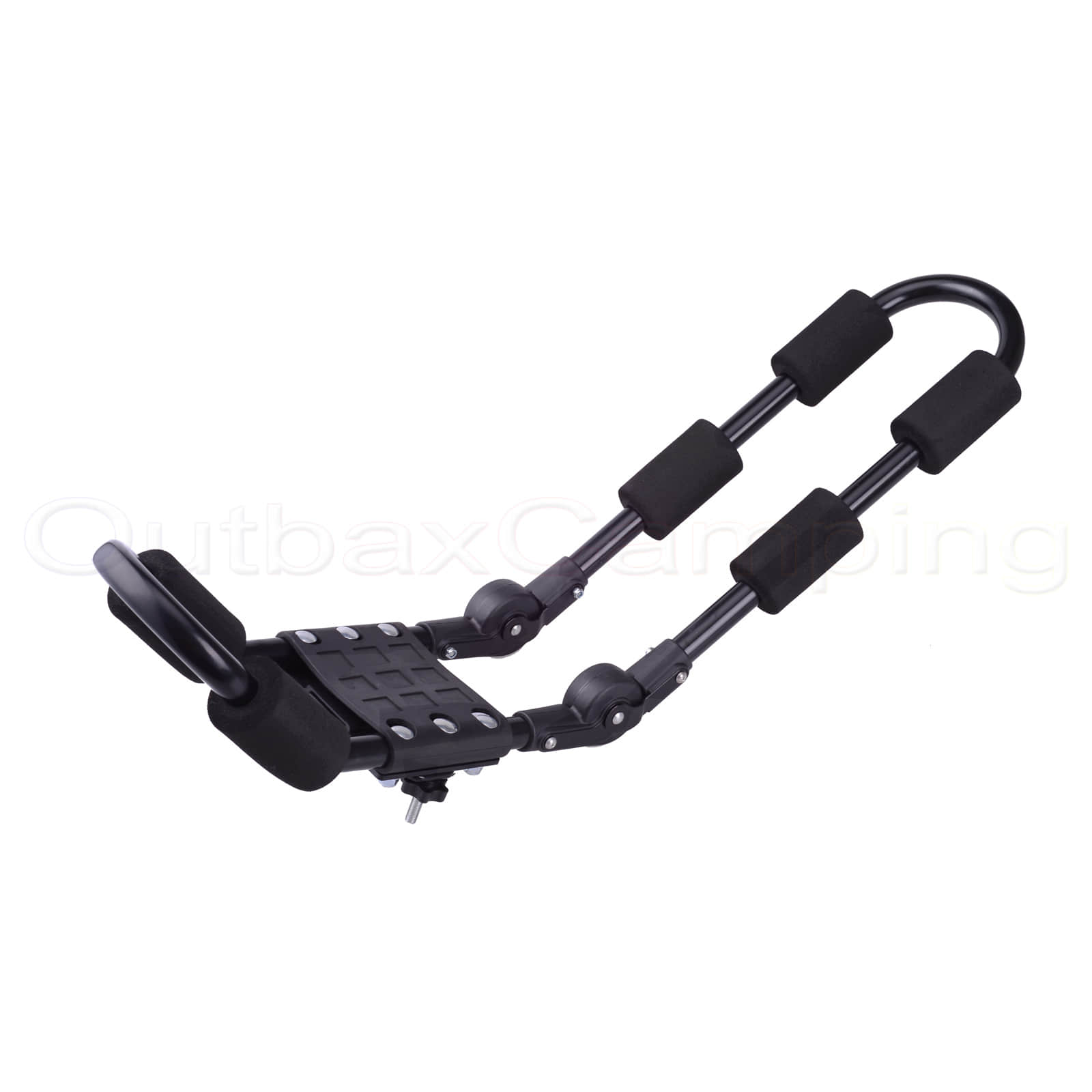 Adjustable Angle Foldable arms J Style Roof Rack Holder Kayak Canoe Carries