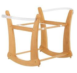 gestell f r baby wiege obaby natur holz st nder baby moses korb ebay. Black Bedroom Furniture Sets. Home Design Ideas