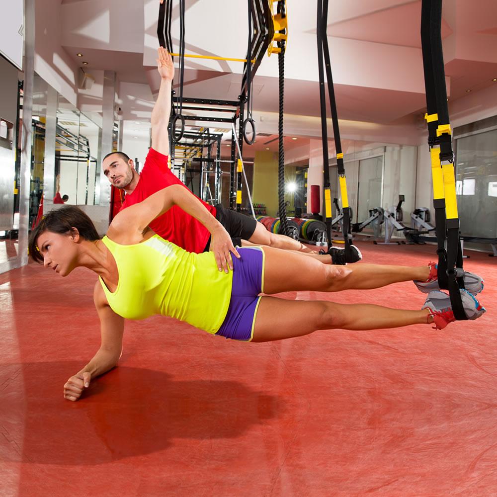 physioroom sangle de musculation suspension trainer accessoire de fitness ebay. Black Bedroom Furniture Sets. Home Design Ideas