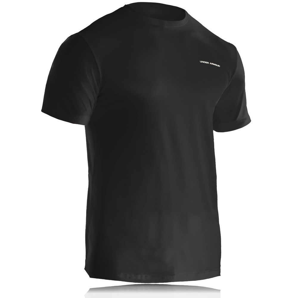 UNDER-ARMOUR-O-SERIES-CREW-MENS-BLACK-HEATGEAR-SPORTS-RUNNING-TEE-T-SHIRT-NEW