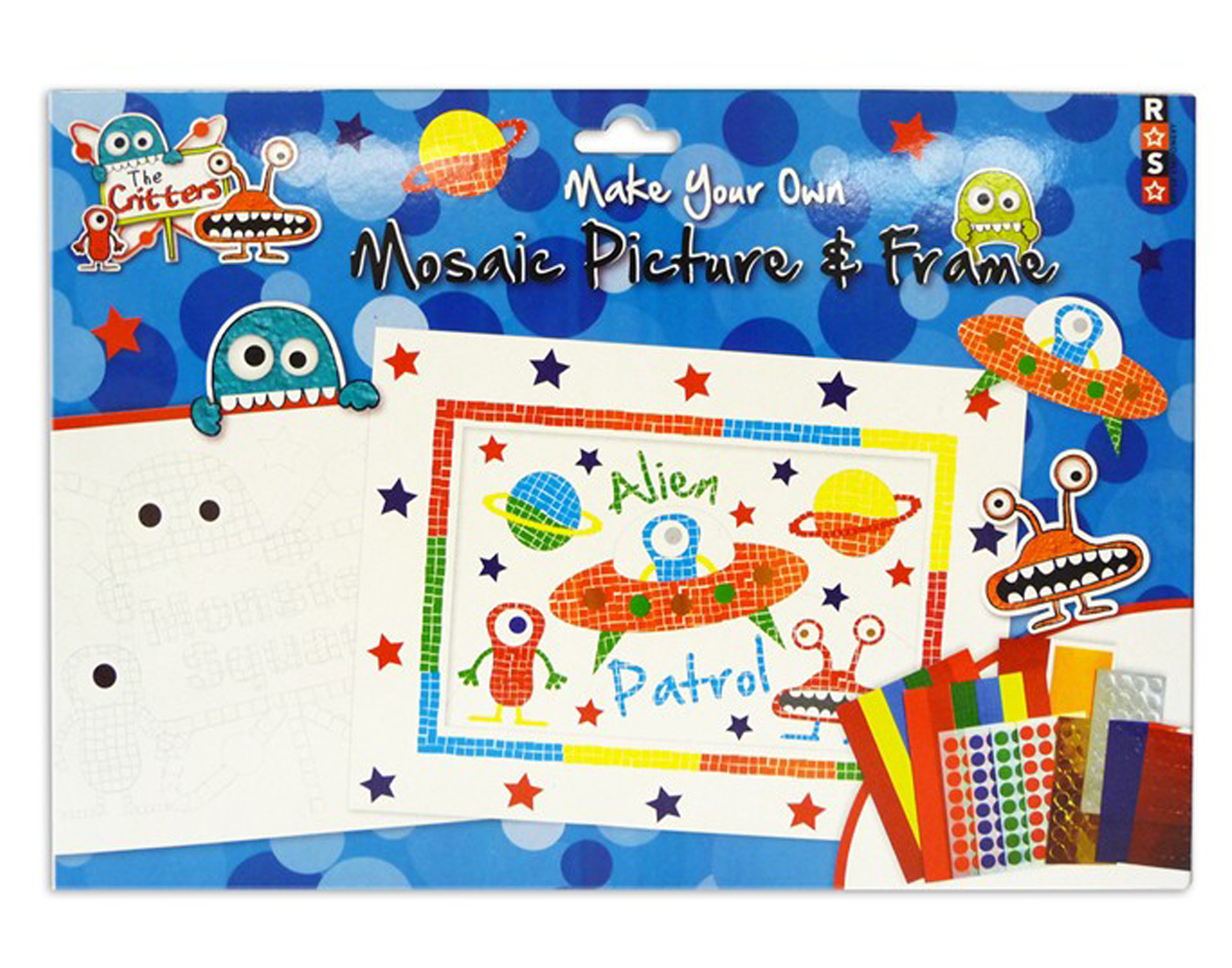 The Critters Make Your Own Mosaic Picture Amp Frame Craft