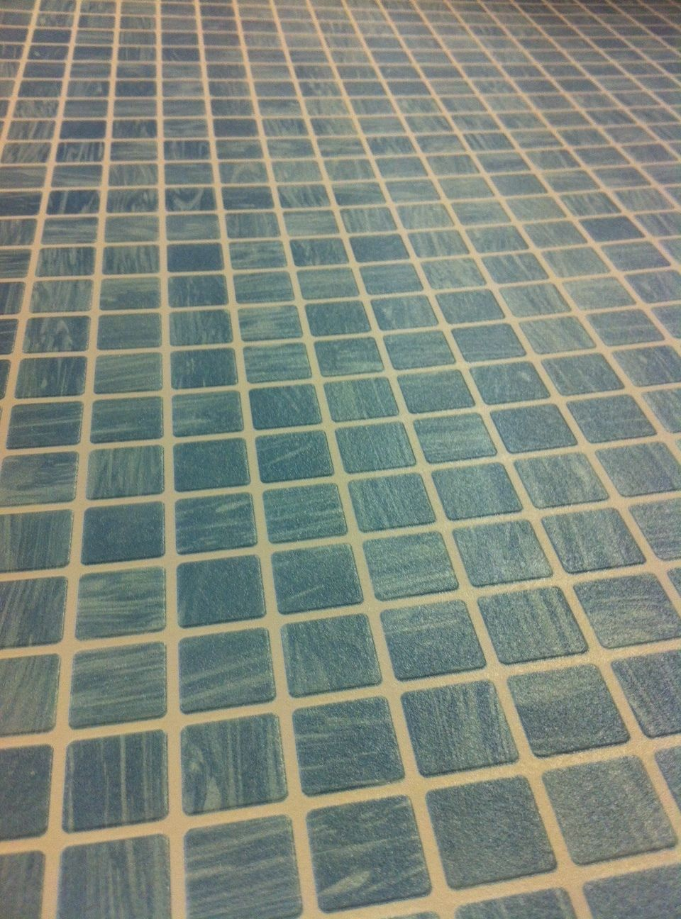 Tile on a roll wallpaper aqua blue teal mosaic kitchen for Tiling on a roll kitchen wallpaper