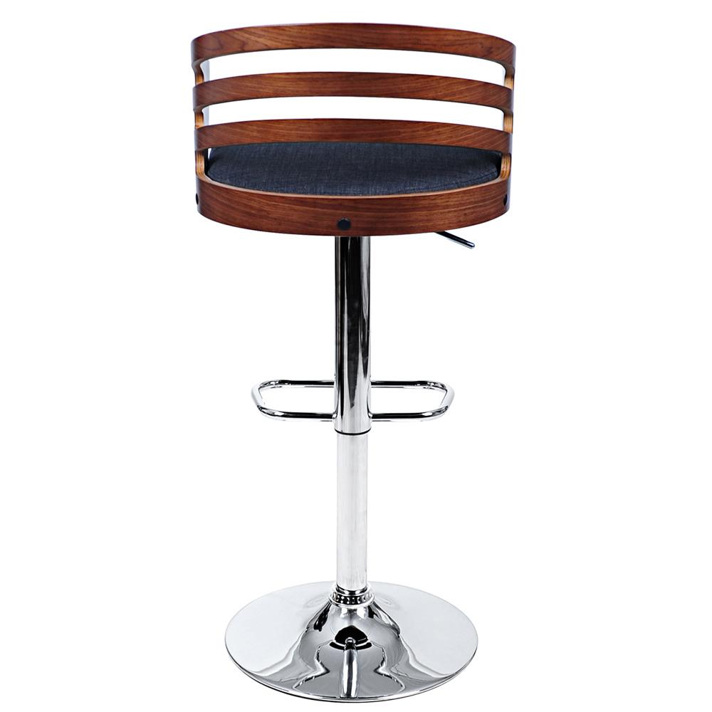 Wooden swivel bar stool Fabric Seat Kitchen Chair Dining  : nm ba tw 8031 fab gyc from www.ebay.com size 1000 x 1000 jpeg 109kB