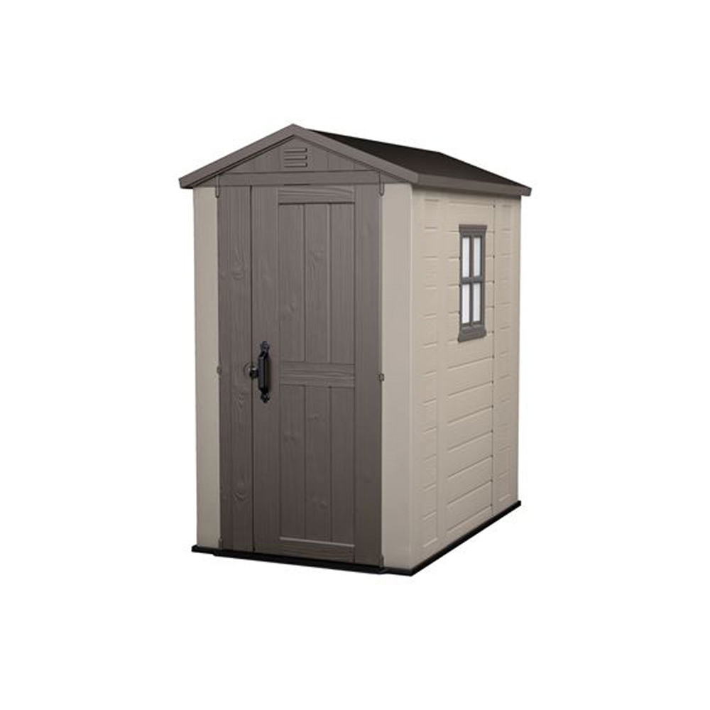 Keter Factor 6 X 3 Garden Storage Shed Durable Plastic
