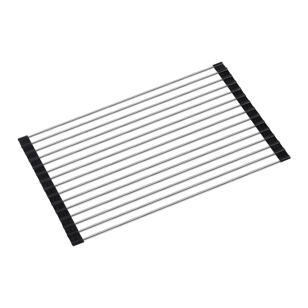 ... about foldable Stainless Steel Roll Mat Kitchen Sink Drying Rack