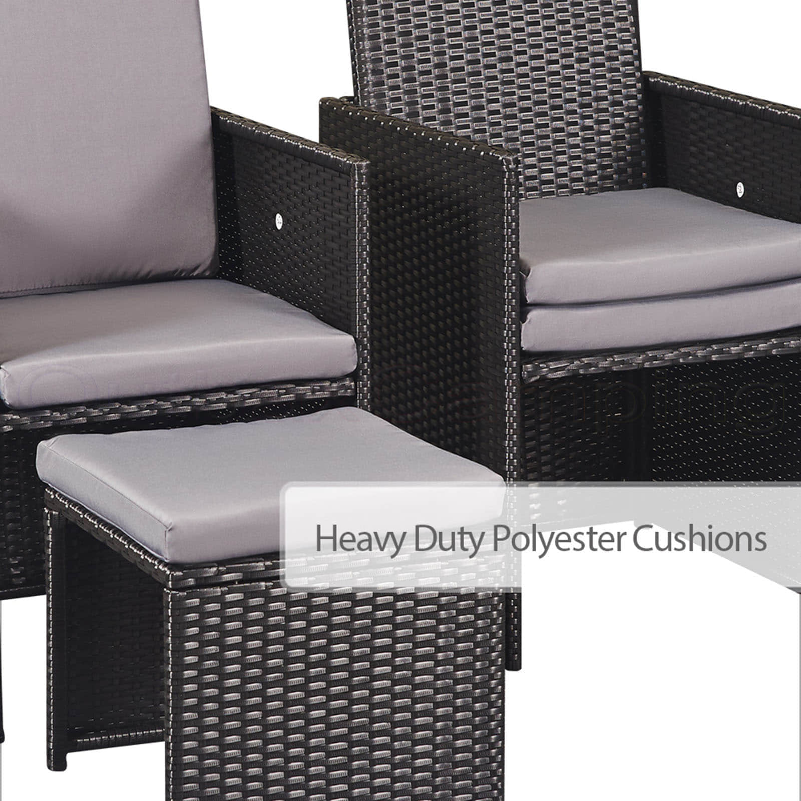new 11pc perfect oasis wicker outdoor dining set rattan. Black Bedroom Furniture Sets. Home Design Ideas