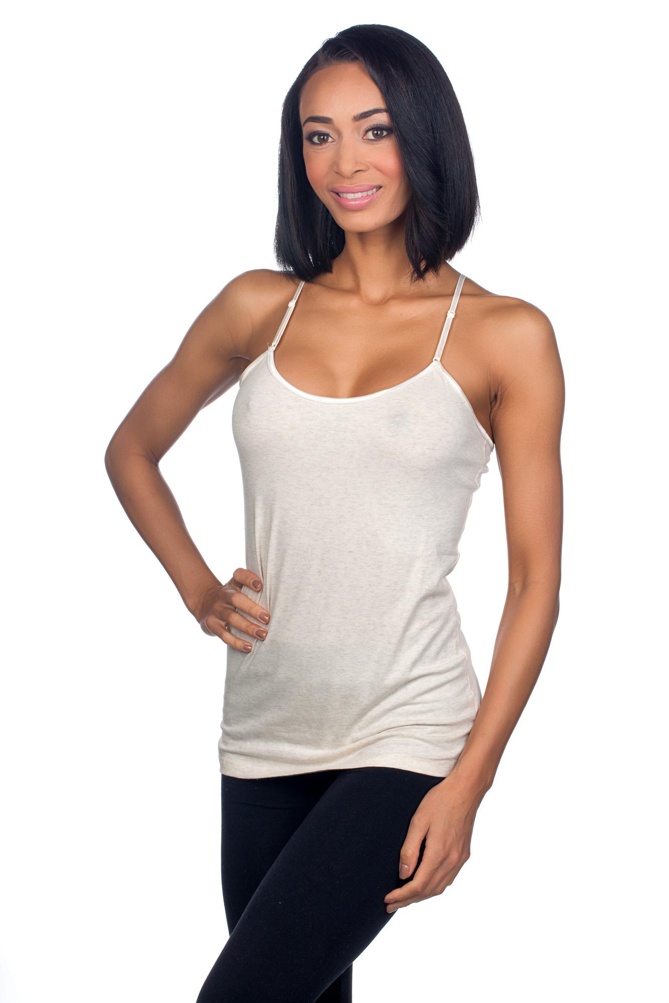 tresics femme basic no shelf bra camisole cc1610 ebay. Black Bedroom Furniture Sets. Home Design Ideas