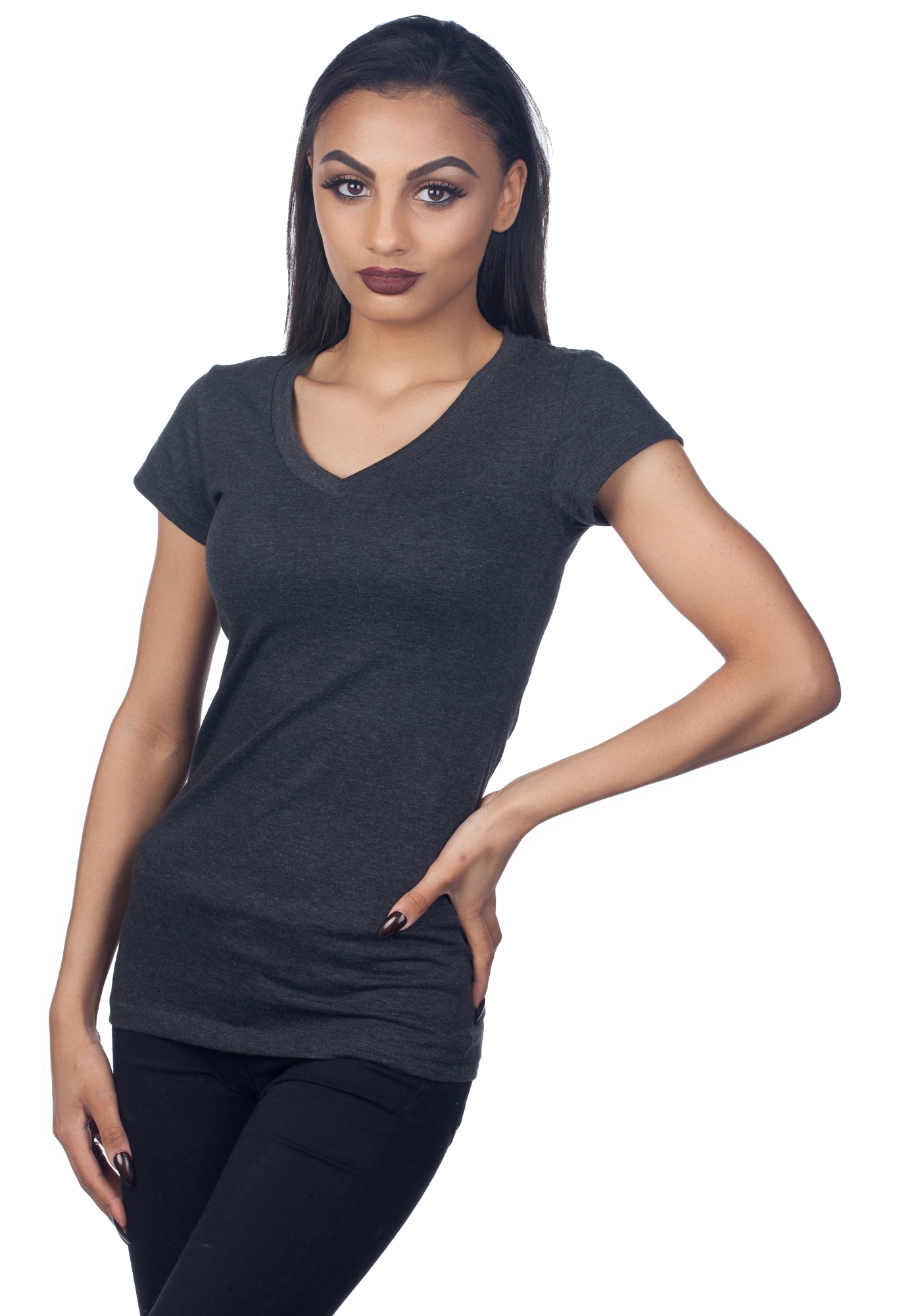 Tresics Women's V-Neck T-Shirt SC3263A
