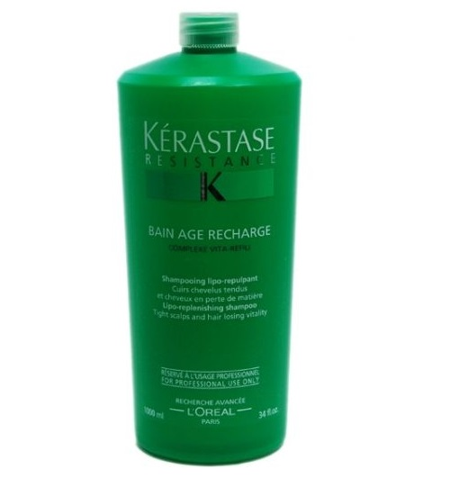 Kerastase bain age recharge shampoo 34 oz for Bain miroir 1 kerastase