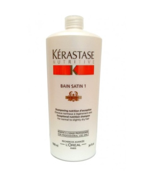 Kerastase bain satin 1 shampoo for normal hair 34 oz ebay for Kerastase bain miroir 1 shampoo
