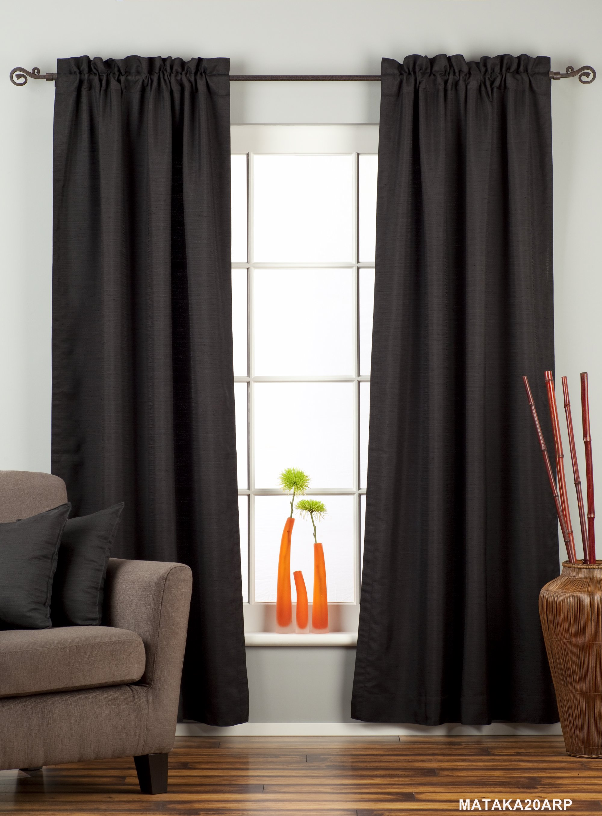 how to clean raw silk curtains