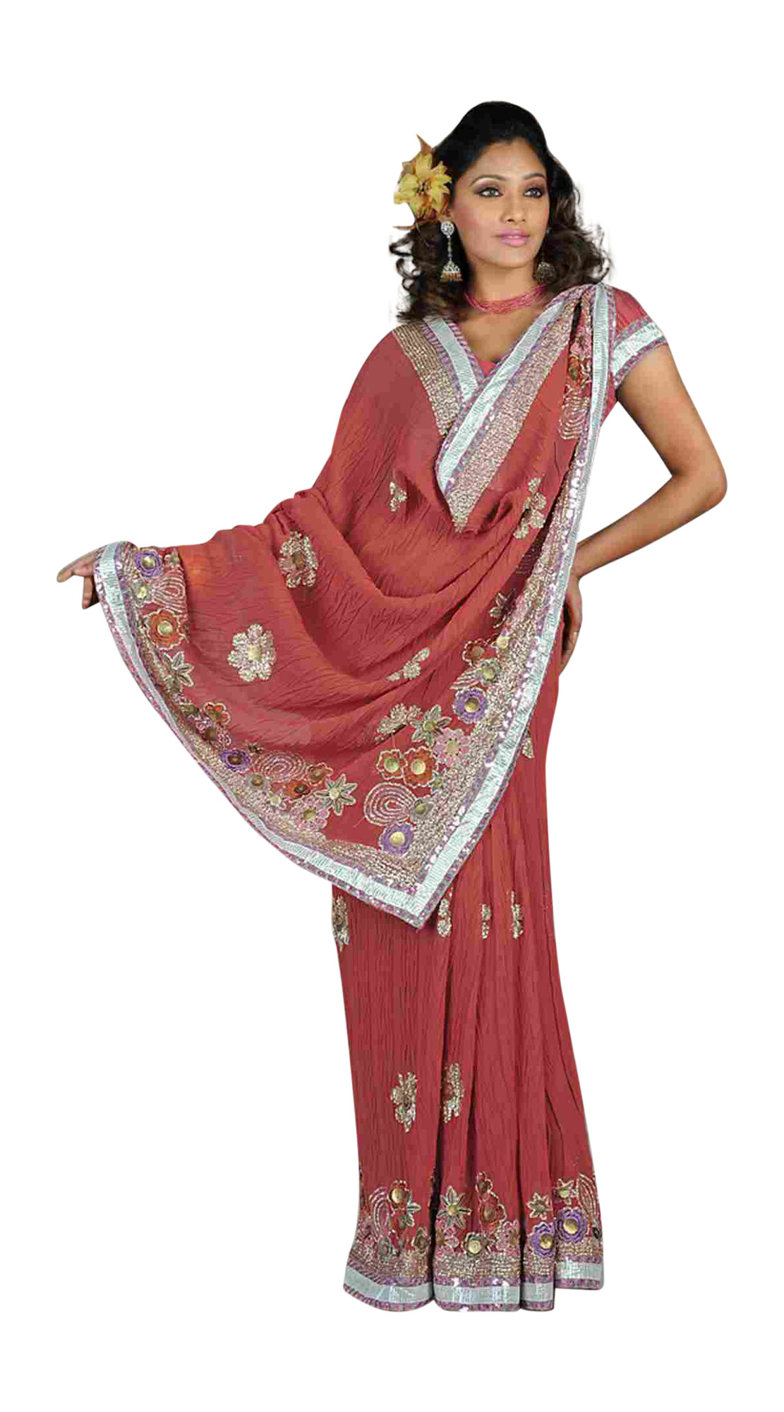 Arti Designer Party Wear Georgette Sari  Saree
