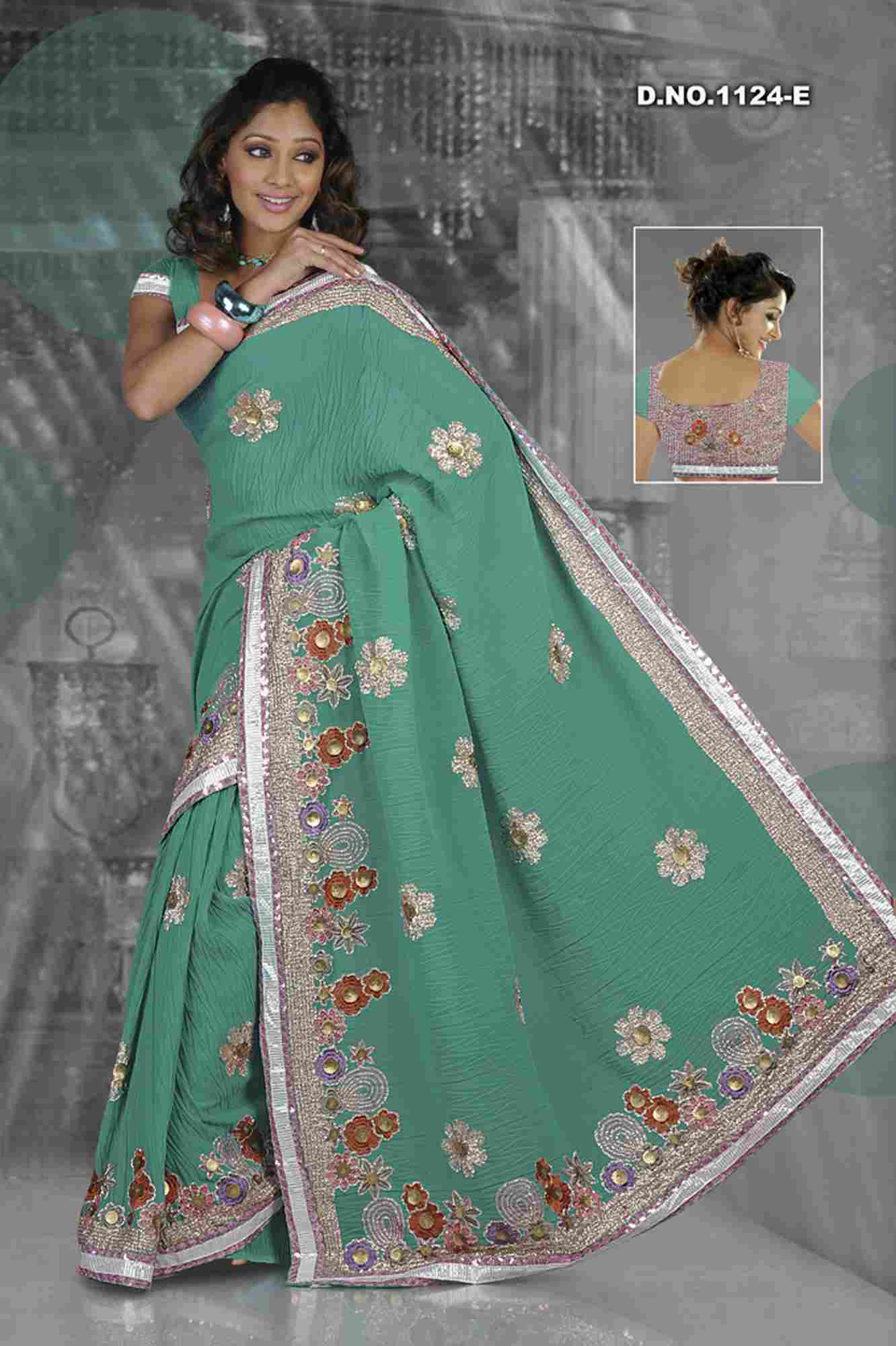 Arundhati Designer Party Wear Georgette Sari  Saree