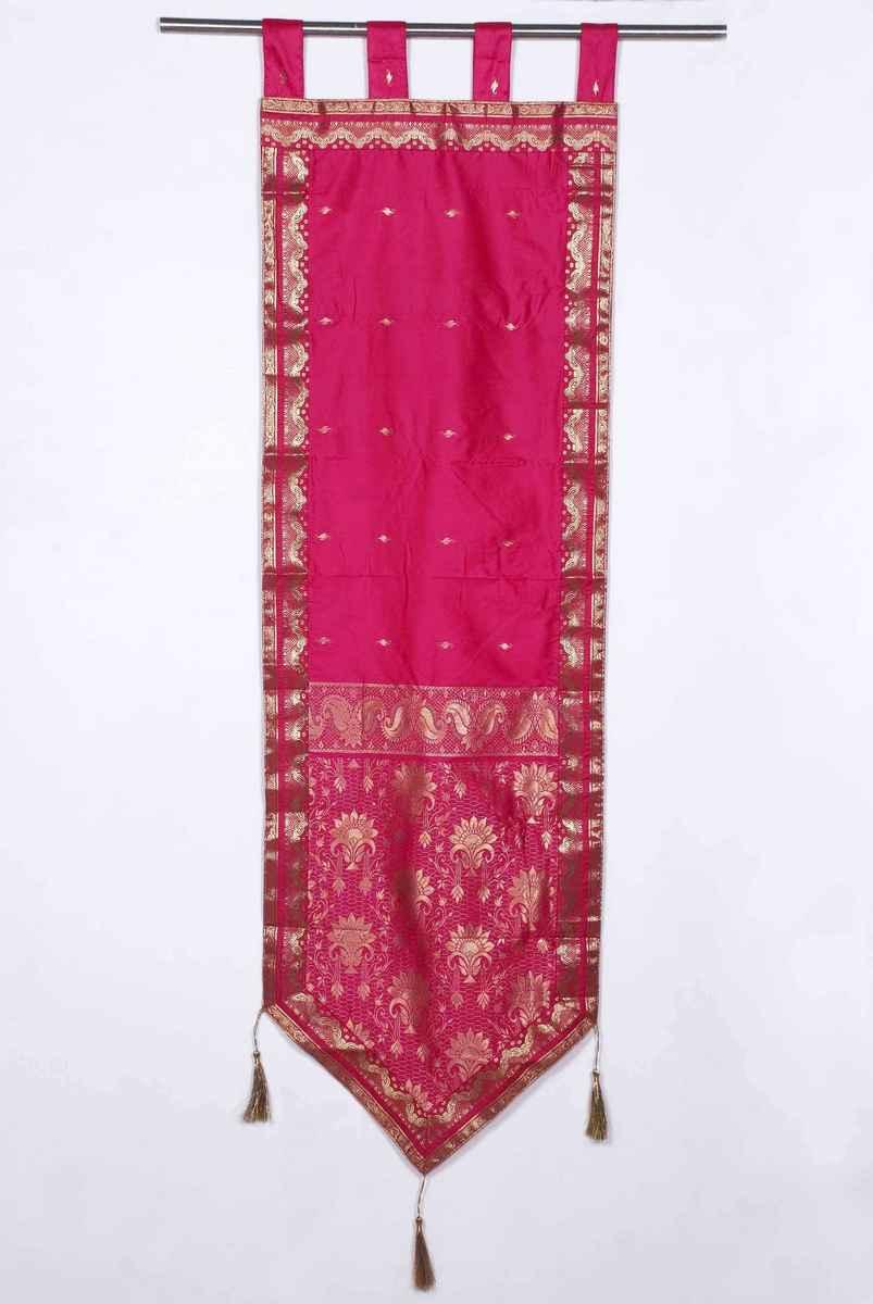 Tapestry   Handmade   Decor   Hang   Pink   Wall