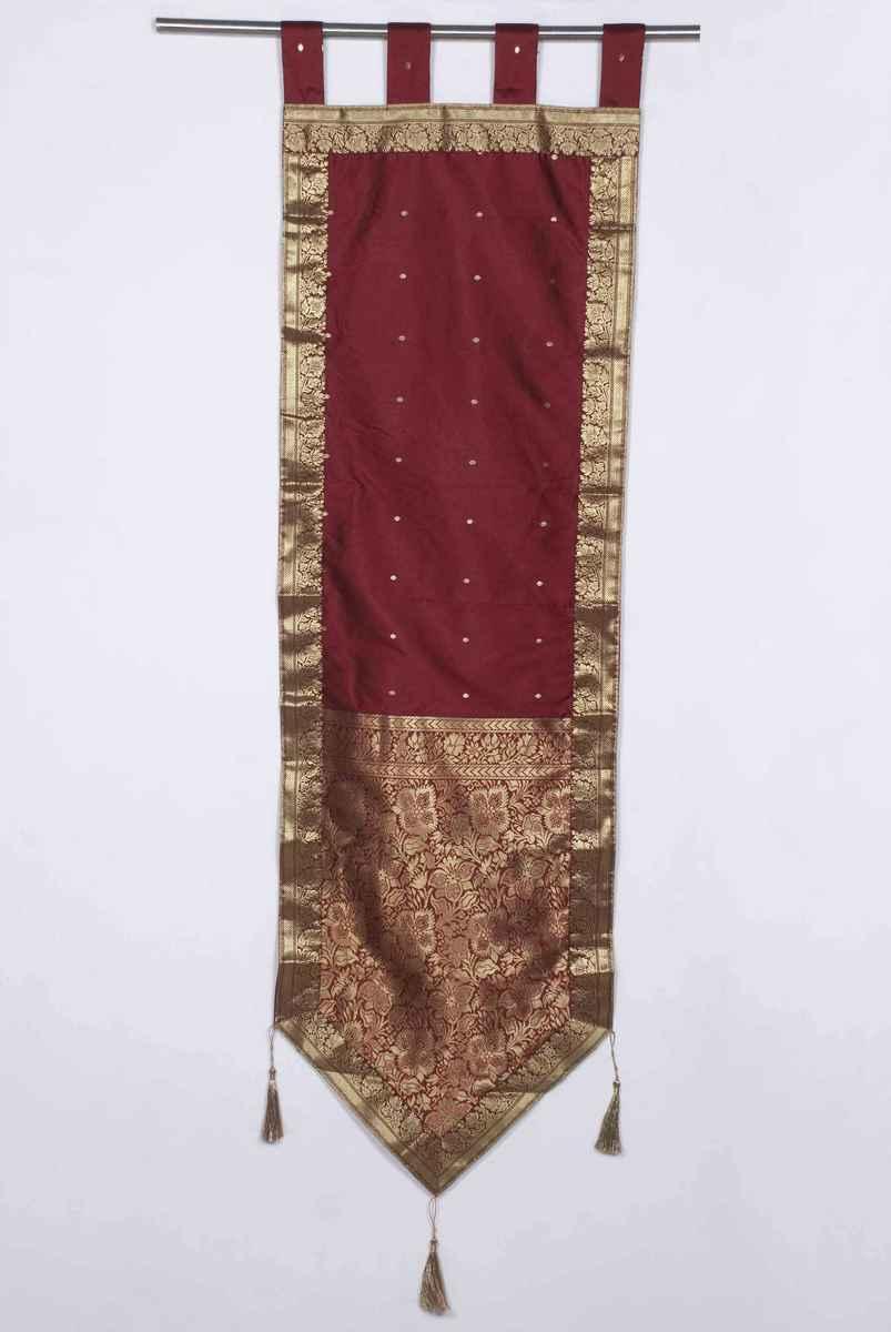 Tapestry | Handmade | Maroon | Decor | Hang | Wall
