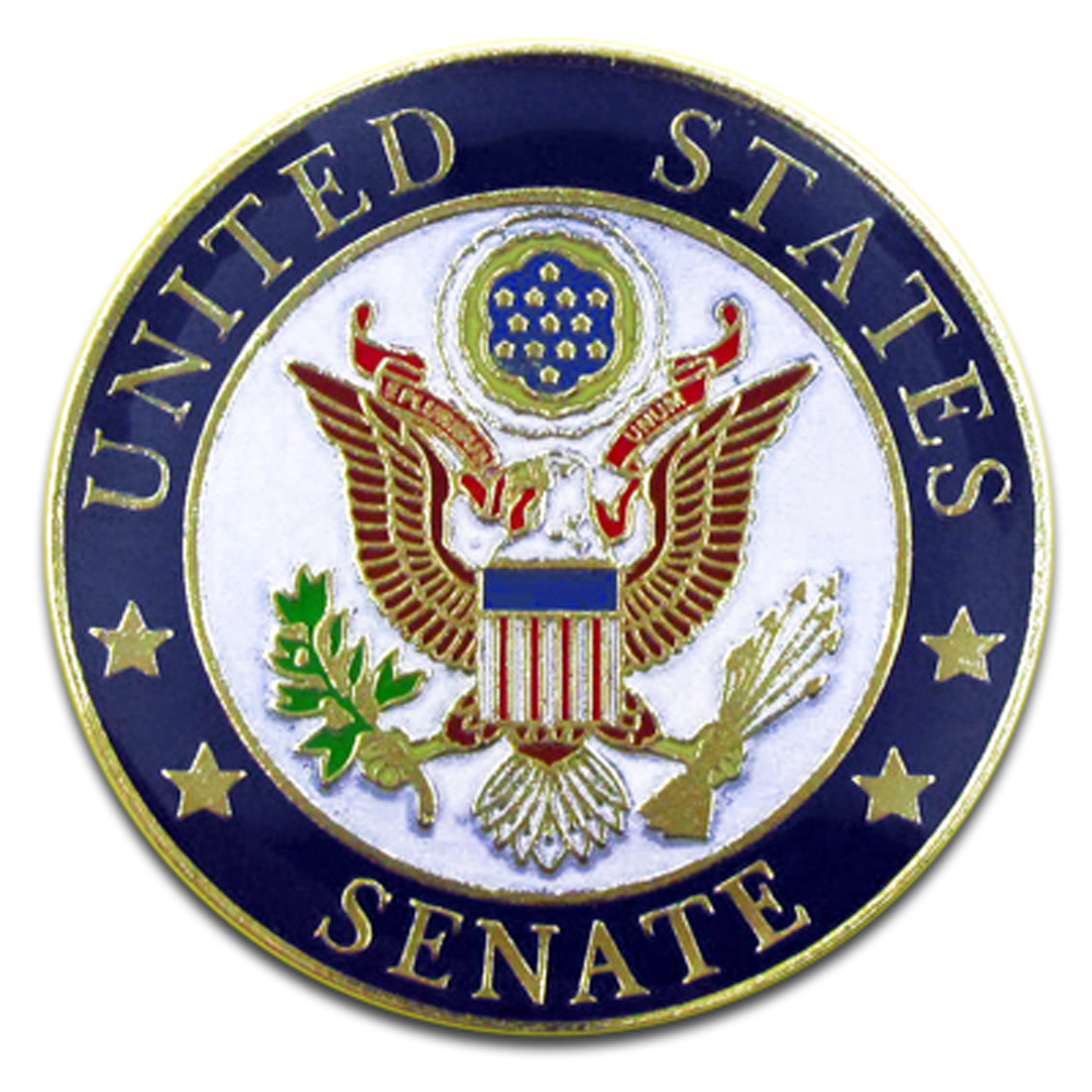 United States Senate Seal Lapel Pin | eBay