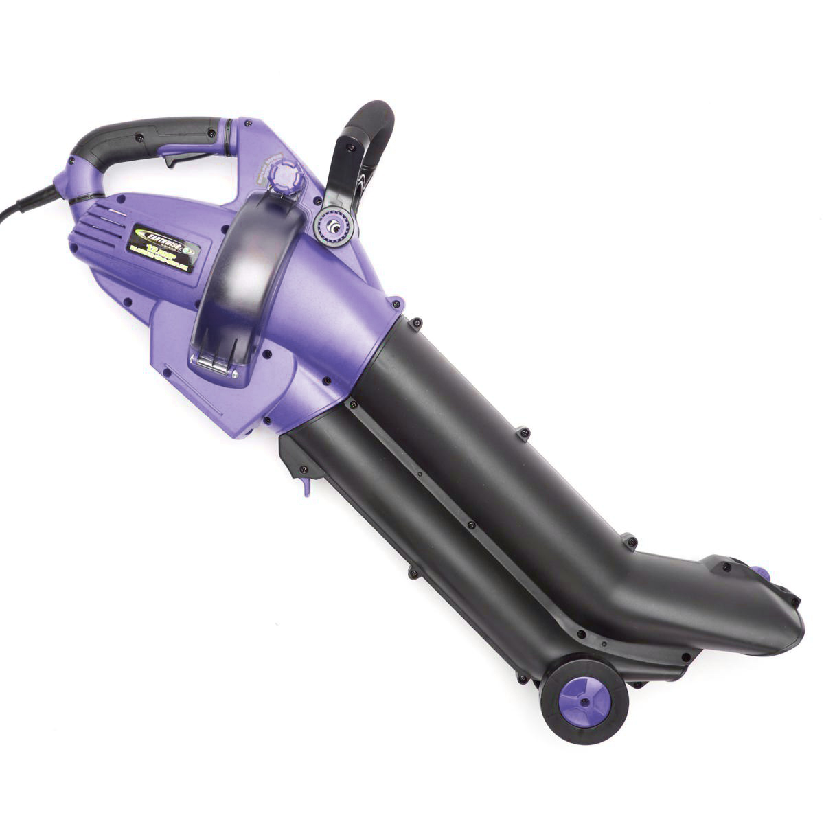 Vacuum and Mulcher EARTHWISE 12-Amp Corded 3-in-1 Wheeled Blower