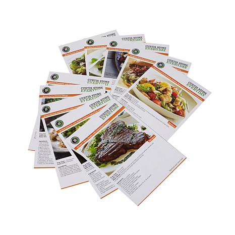 Curtis-Stone-DuraPan-Nonstick-Double-Burner-Grill-Pan-with-10-Recipe-Cards