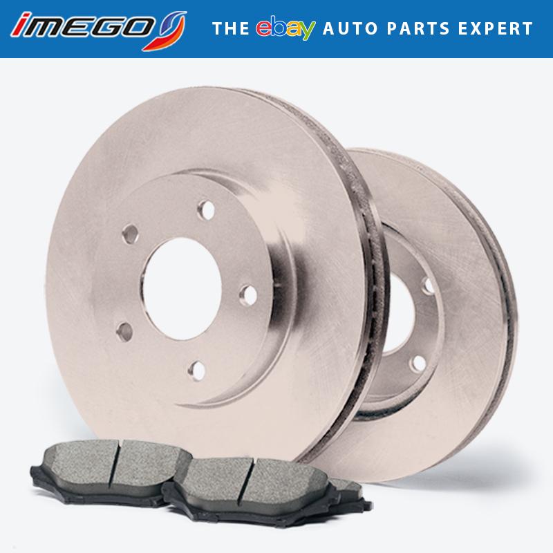 Fits: 2008 2009 2010 Sonata 2.4  Rear Rotors w//Ceramic Pads OE Brakes