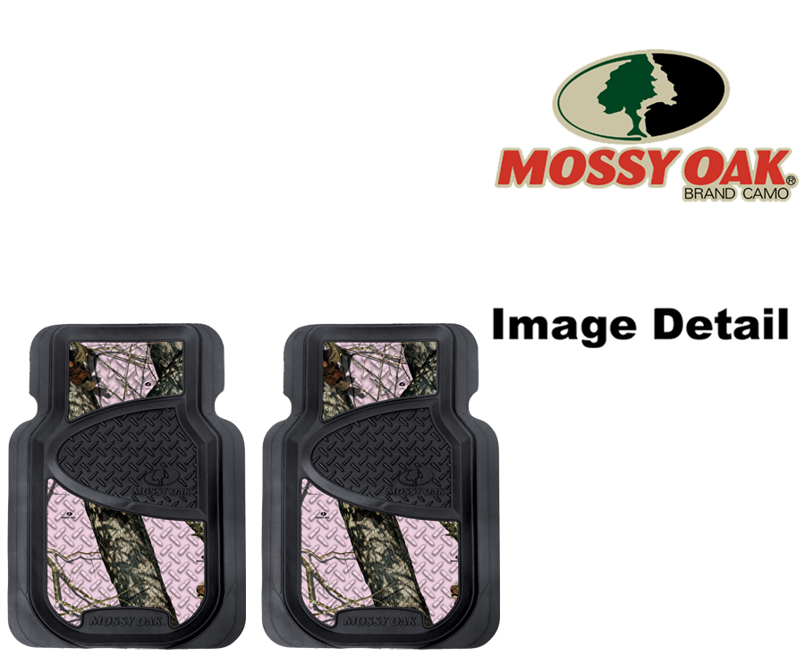 Floor mats car truck suv mossy oak infinity pink print camo camouflage