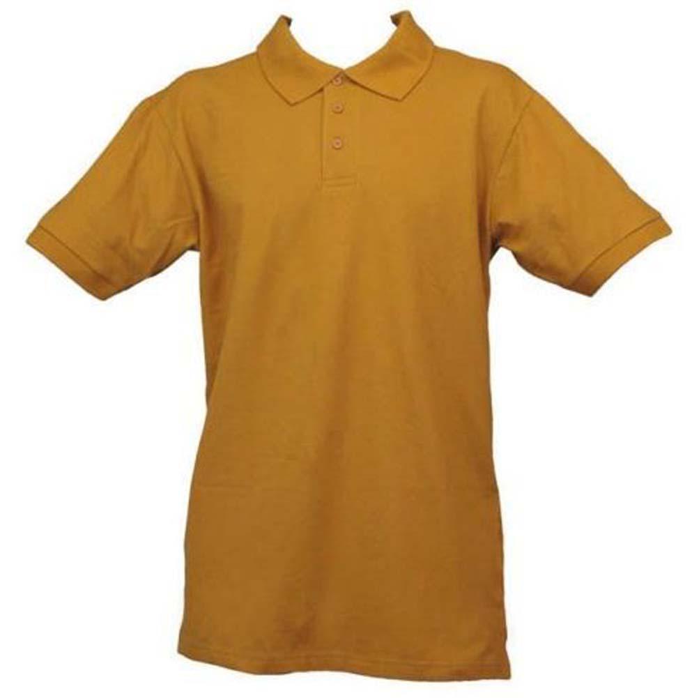 Regatta mens collar button up short sleeve work golf for Cotton button up shirt