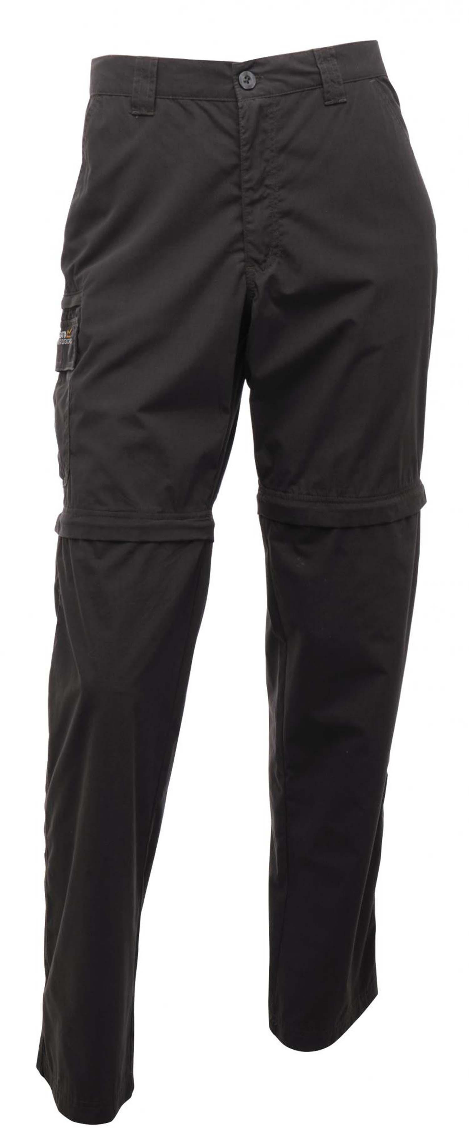 Regatta Crossfell Mens Water Rpllnt Zip Off Walking Hiking Trousers