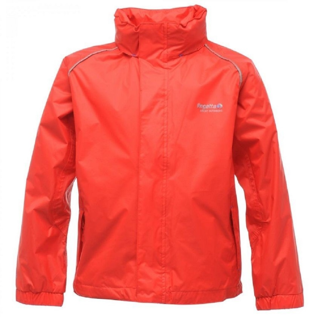 Regatta Fieldfare Girls Lightweight Waterproof Breathable Jacket