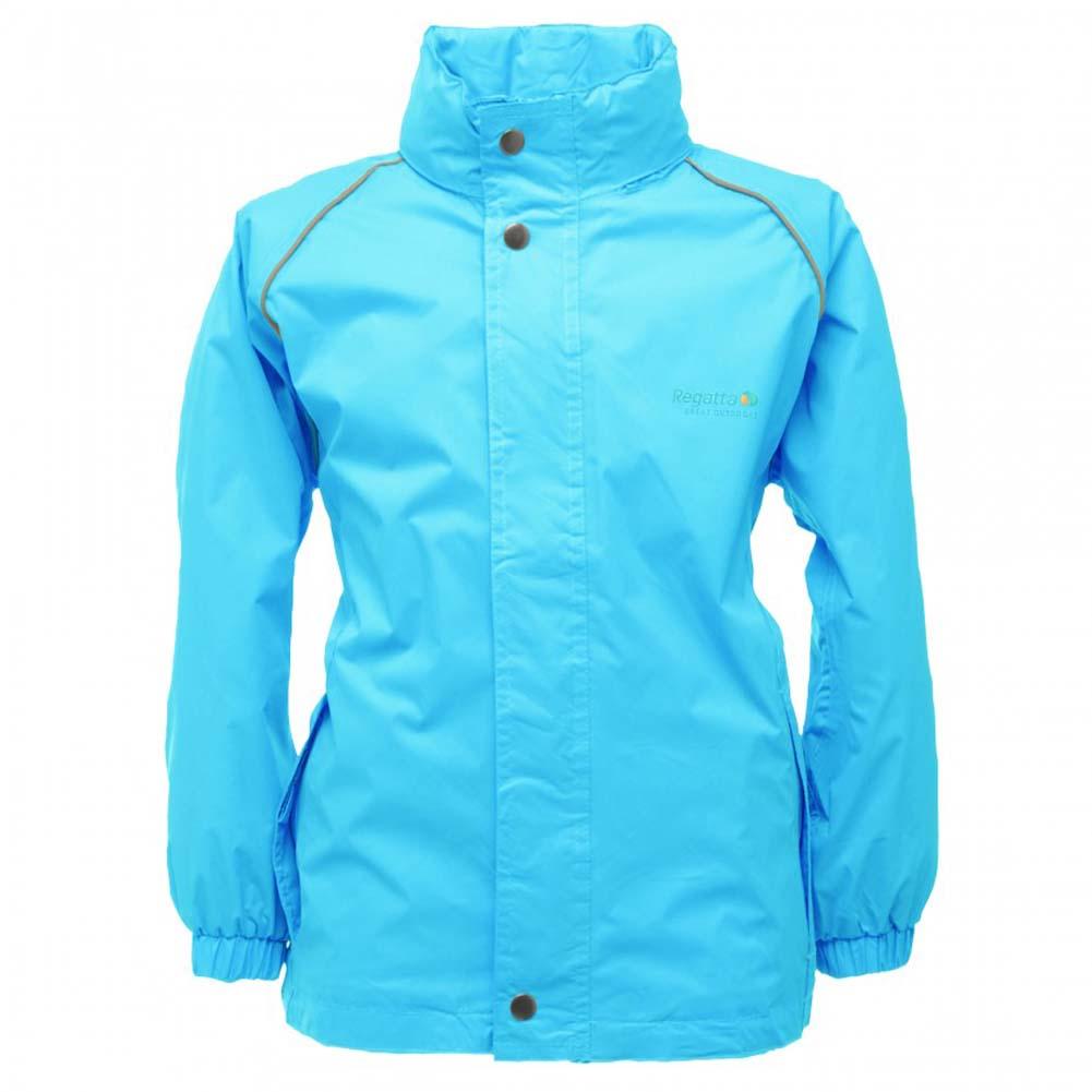 Regatta-Fuselage-II-Boys-Girls-Lightweight-Waterproof-Rain-Coat-Jacket-RKW936