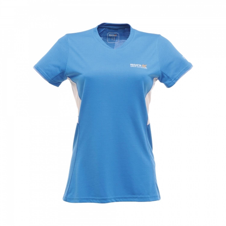 Regatta jamie womens technical sports wicking base layer for Womens base layer shirt
