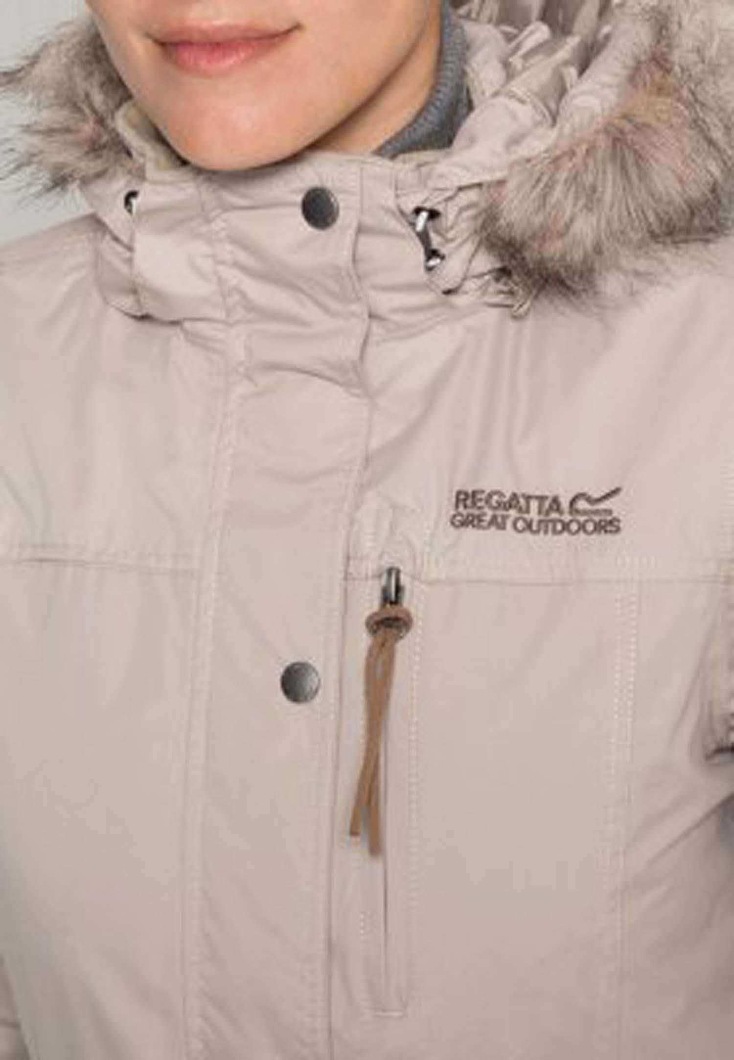 Womens landbreak parka jacket black