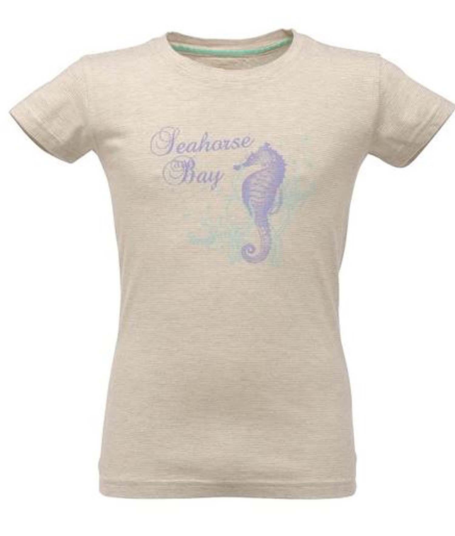 Design t shirt kid - Regatta Sunradar Boys Girls Kids Coolweave Cotton Design