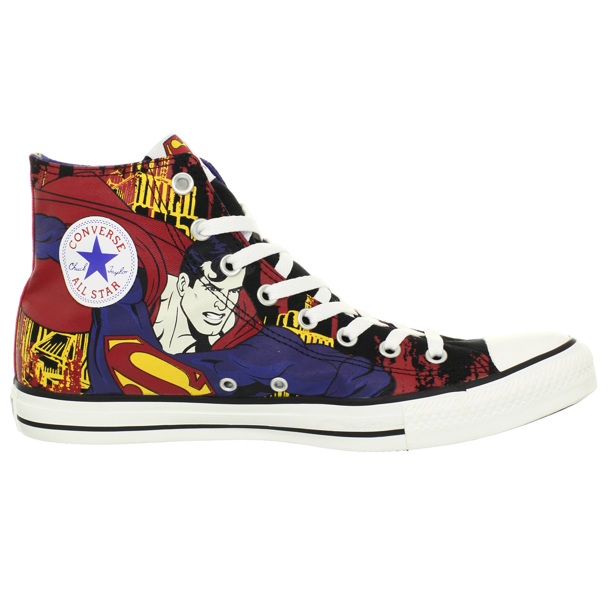 converse ct hi black royal superman shoes us mens size 9