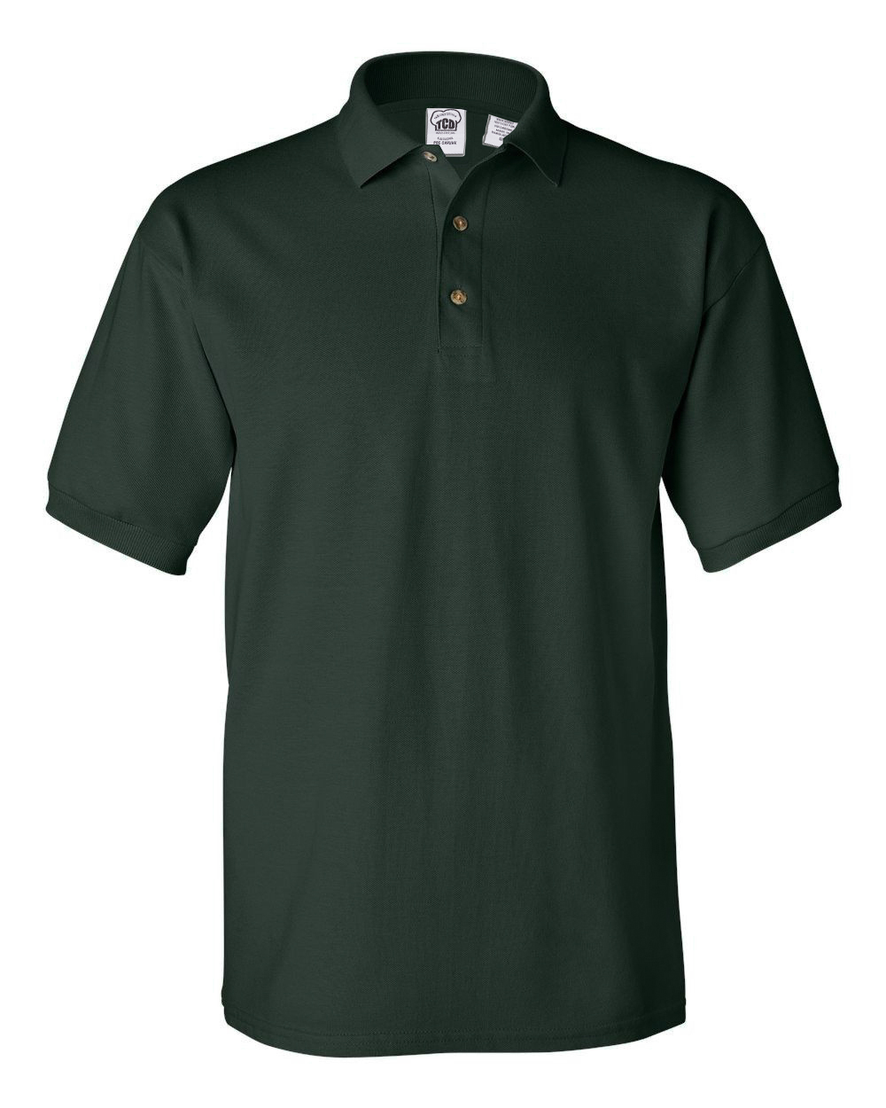 Men's 100% Preshrunk Cotton Short Sleeve Pique Polo Shirt