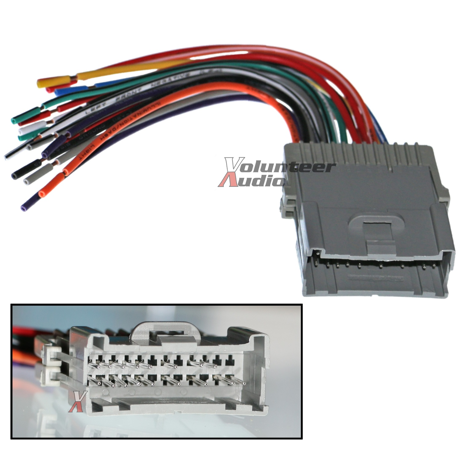 Saturn Car Stereo Cd Player Wiring Harness Wire