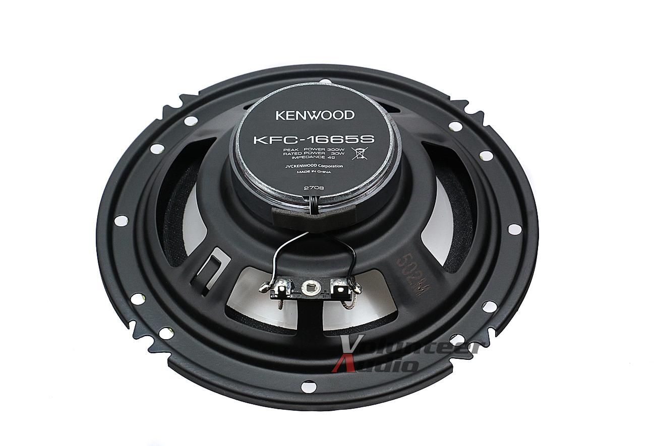 kenwood kfc 1665s 6 5 speakers 1 pair front rear. Black Bedroom Furniture Sets. Home Design Ideas